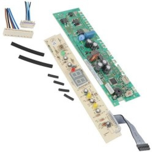 Module met display -3 lampjes, 190X55X21mm- AEG koelkast 4055071866