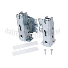 Scharnieren -set, metaal, onder/boven- Bosch/Siemens koelkast 00481147