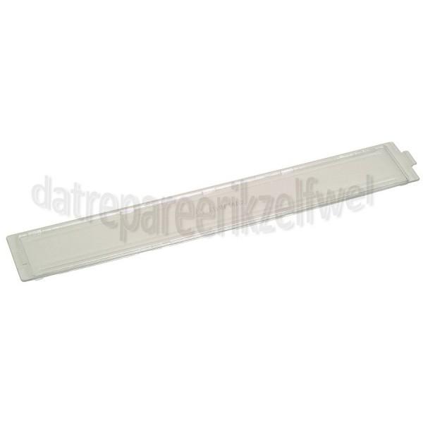 Glas -bescherming van verlichting, 368X59mm- Pelgrim afzuigkap 88016360
